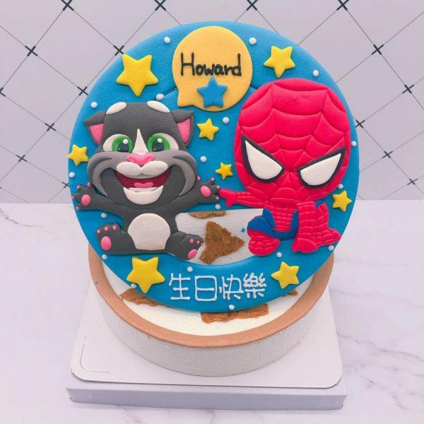 蜘蛛人生日蛋糕推薦,貓咪造型生日蛋糕宅配訂購