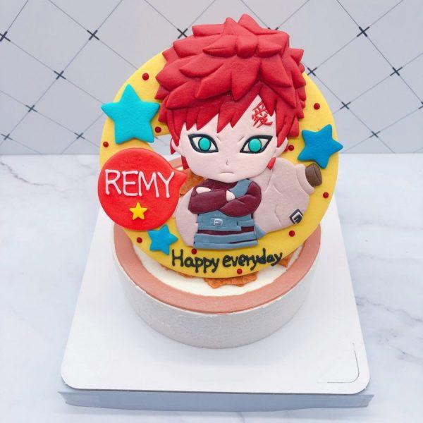 我愛羅造型生日蛋糕,火影忍者生日蛋糕宅配推薦