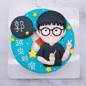 人像造型蛋糕推薦,2020客製化生日蛋糕宅配訂購