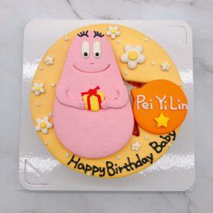泡泡先生造型蛋糕推薦,生日蛋糕宅配訂購