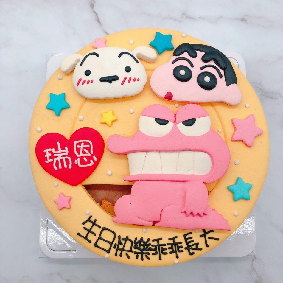 蠟筆小新造型蛋糕推薦,小白生日蛋糕宅配