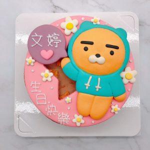 Ryan生日蛋糕手作推薦,萊恩獅造型蛋糕推薦