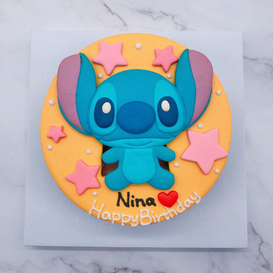 史迪奇造型蛋糕推薦,卡通生日蛋糕宅配訂購