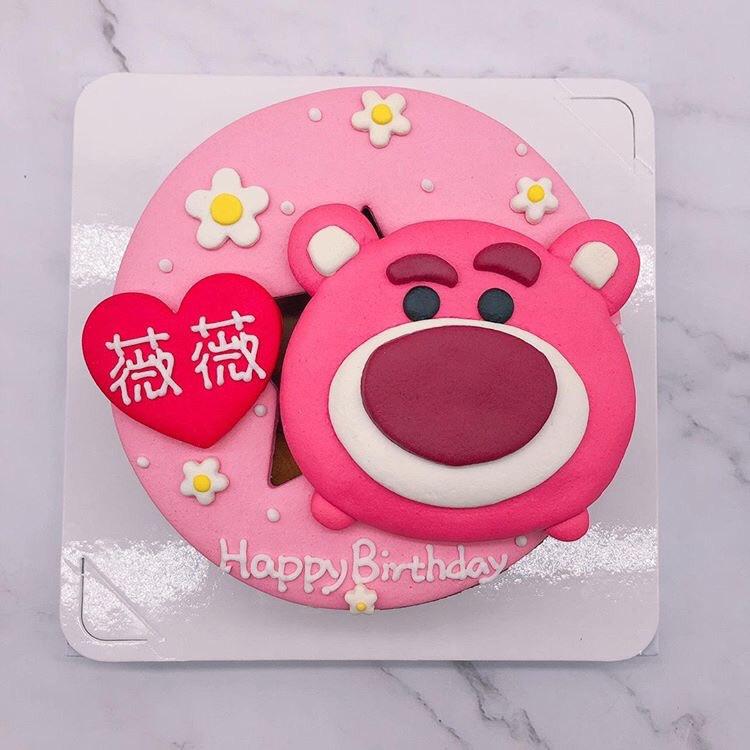 熊抱哥造型蛋糕推薦,玩具總動員生日蛋糕宅配