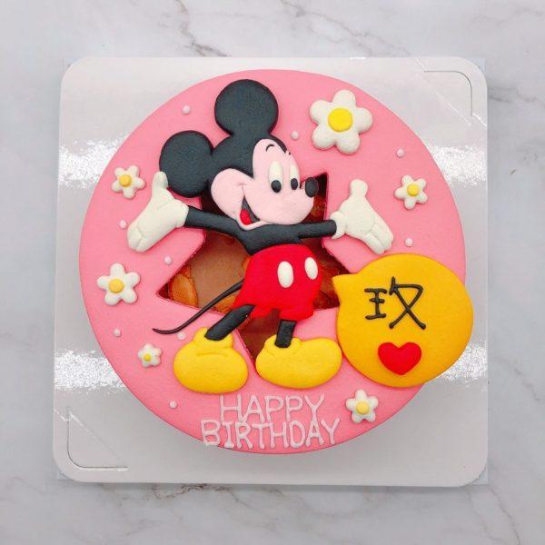 米奇造型生日蛋糕,迪士尼造型蛋糕宅配推薦