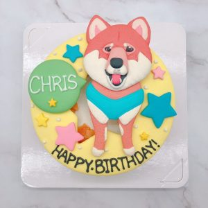 柴犬造型蛋糕推薦,寵物生日蛋糕宅配