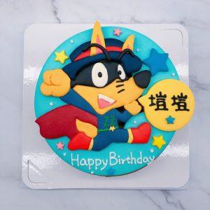 怪俠佐羅力生日蛋糕推薦,小朋友最愛卡通造型蛋糕宅配