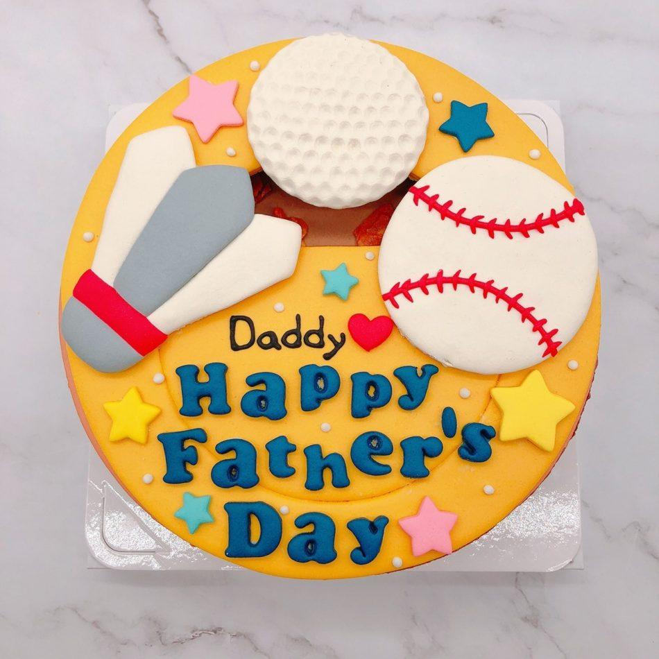 羽毛球造型蛋糕推薦,棒球/高爾夫球生日蛋糕宅配