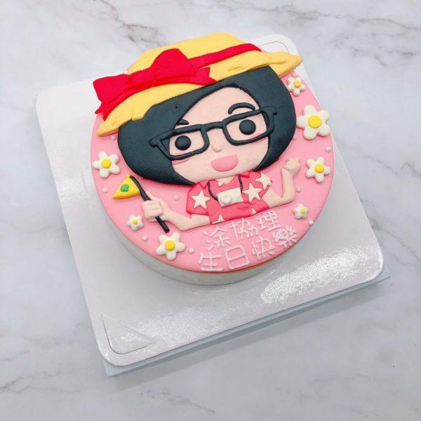 台北Q版人像生日蛋糕推薦,客製化造型蛋糕作品分享
