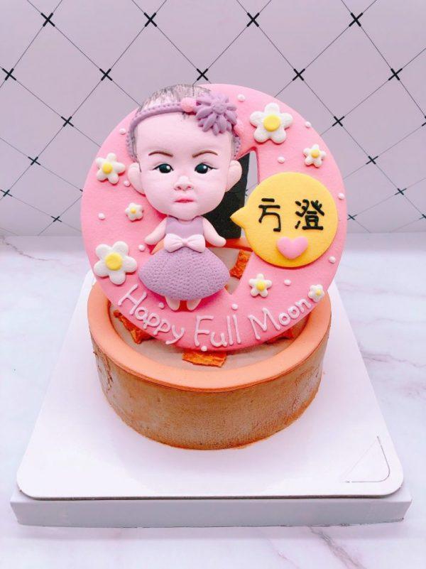 寶寶人像造型蛋糕推薦,台北生日蛋糕宅配訂購