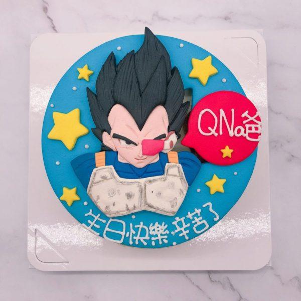 七龍珠生日蛋糕推薦,達爾造型蛋糕宅配