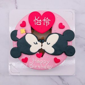 米奇造型蛋糕推薦,米妮生日蛋糕作品分享