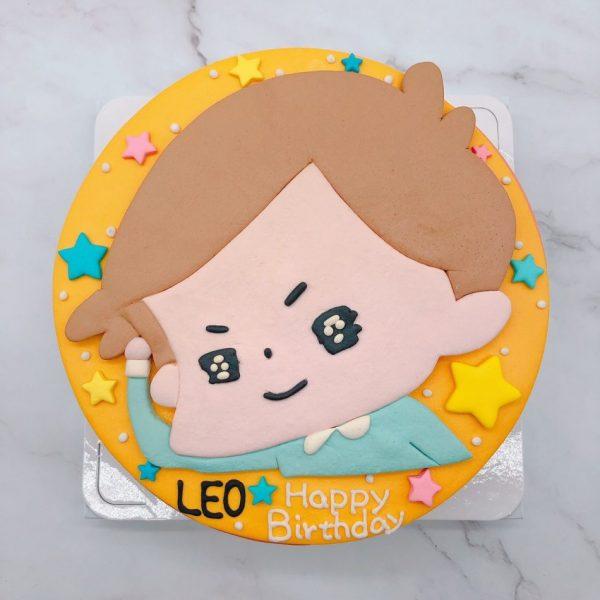 卡爾生日蛋糕手作推薦,啾啾妹造型蛋糕作品分享