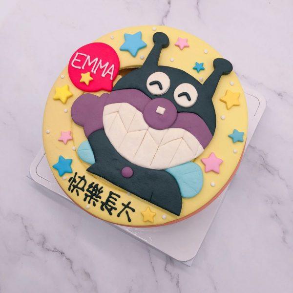 細菌人造型蛋糕推薦,麵包超人生日蛋糕作品分享