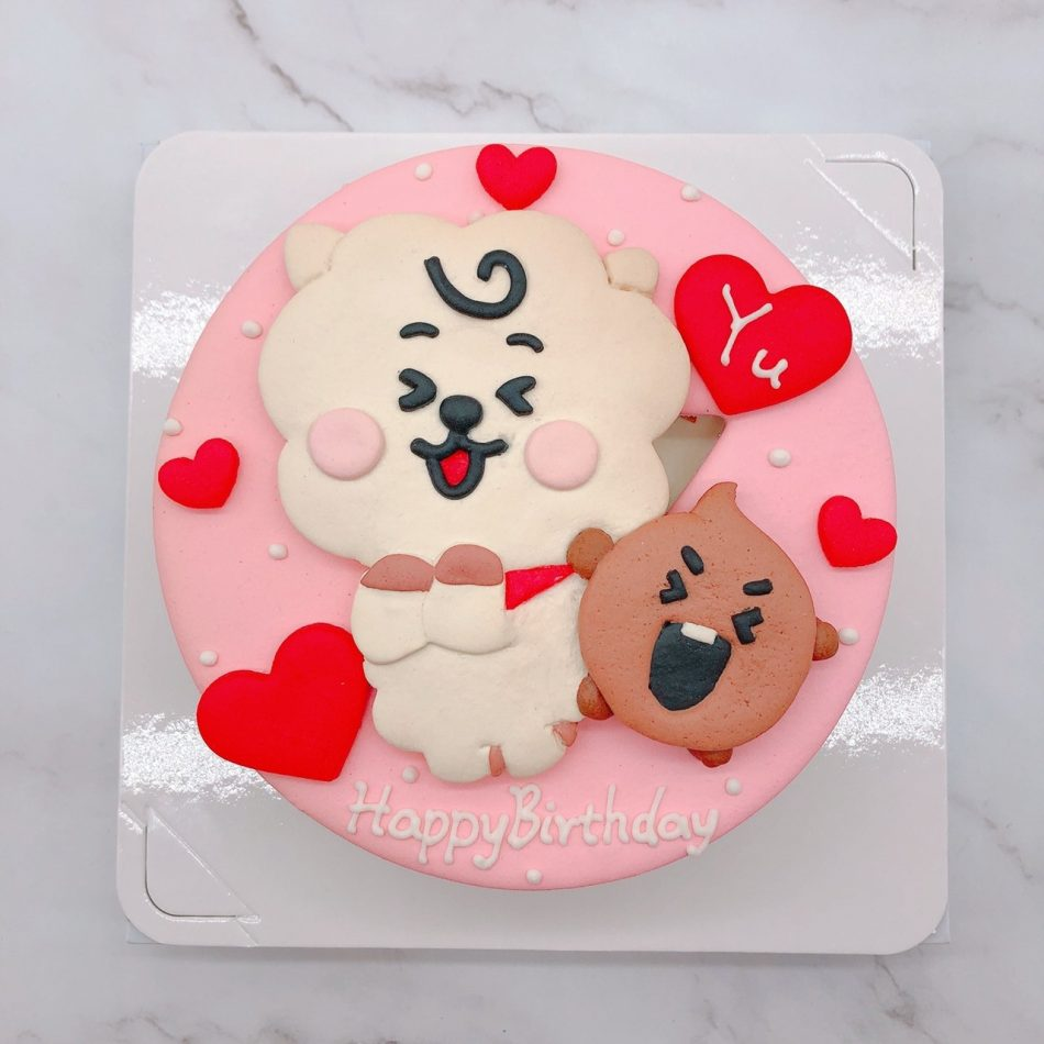BT21生日蛋糕推薦,客製化造型蛋糕宅配
