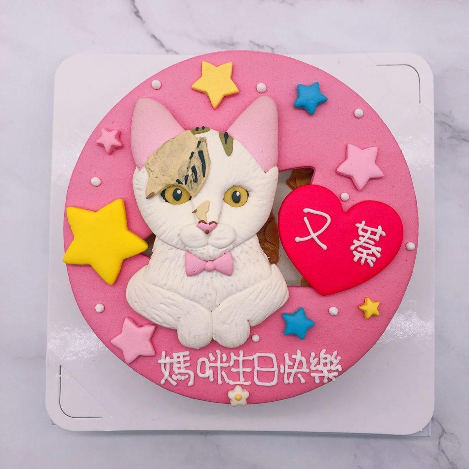 貓咪生日蛋糕推薦,台北寵物造型蛋糕宅配訂購