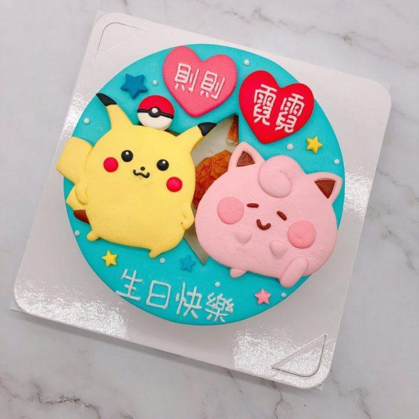 寶可夢皮卡丘造型蛋糕,皮皮生日蛋糕推薦