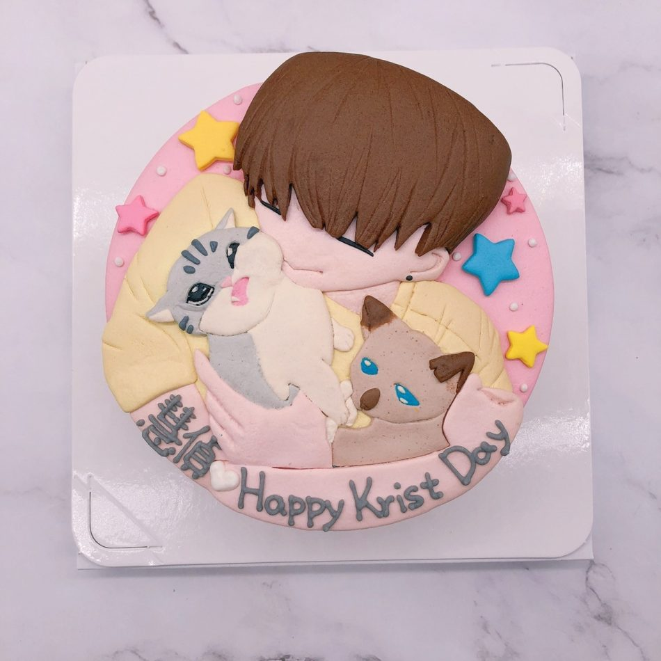 Q版人像造型蛋糕推薦,寵物生日蛋糕蛋糕作品分享