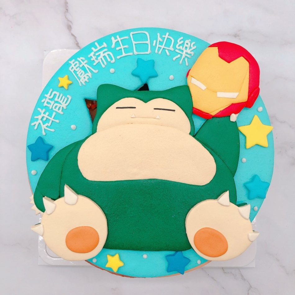 卡比獸生日蛋糕推薦,鋼鐵人造型蛋糕宅配
