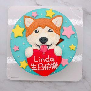 超可愛狗狗造型蛋糕推薦,台北寵物生日蛋糕作品分享