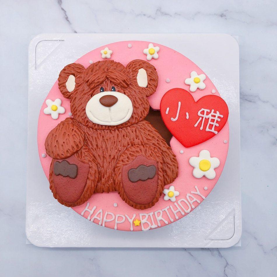 熊造型蛋糕推薦,台北生日蛋糕作品分享