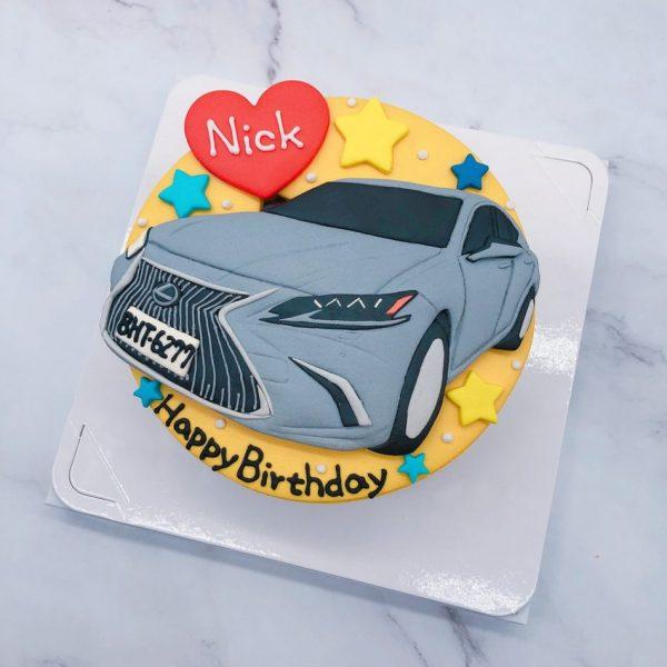 LEXUS汽車造型蛋糕 ,凌志車子生日蛋糕推薦