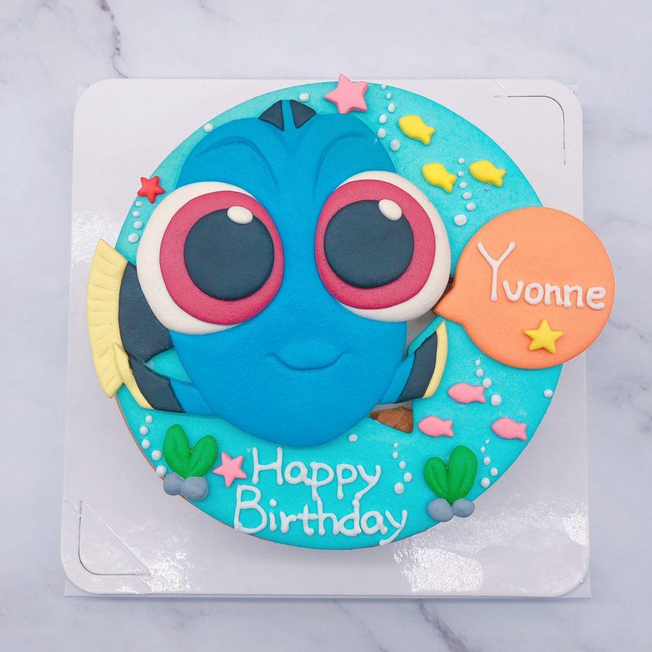 海底總動員生日蛋糕,多莉造型蛋糕宅配推薦
