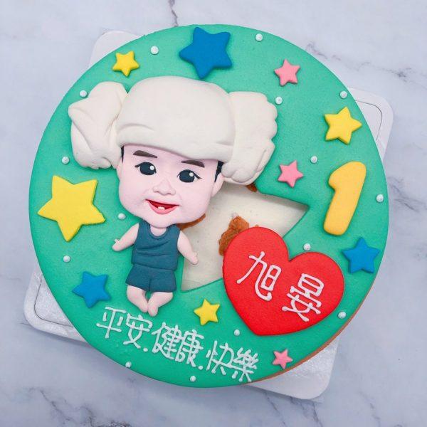 台北寶寶人像造型蛋糕推薦,生日蛋糕宅配訂購