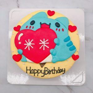 咖波手作造型蛋糕分享,客製化生日蛋糕作品分享