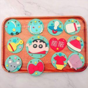 蠟筆小新收涎餅乾推薦,寶寶客製化收涎餅乾宅配