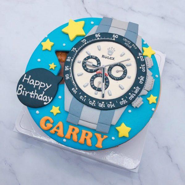 勞力士手錶造型蛋糕推薦,Rolex生日蛋糕宅配