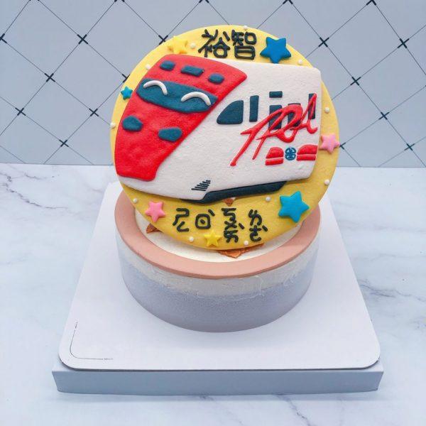 火車生日蛋糕推薦,普悠瑪火車造型蛋糕宅配