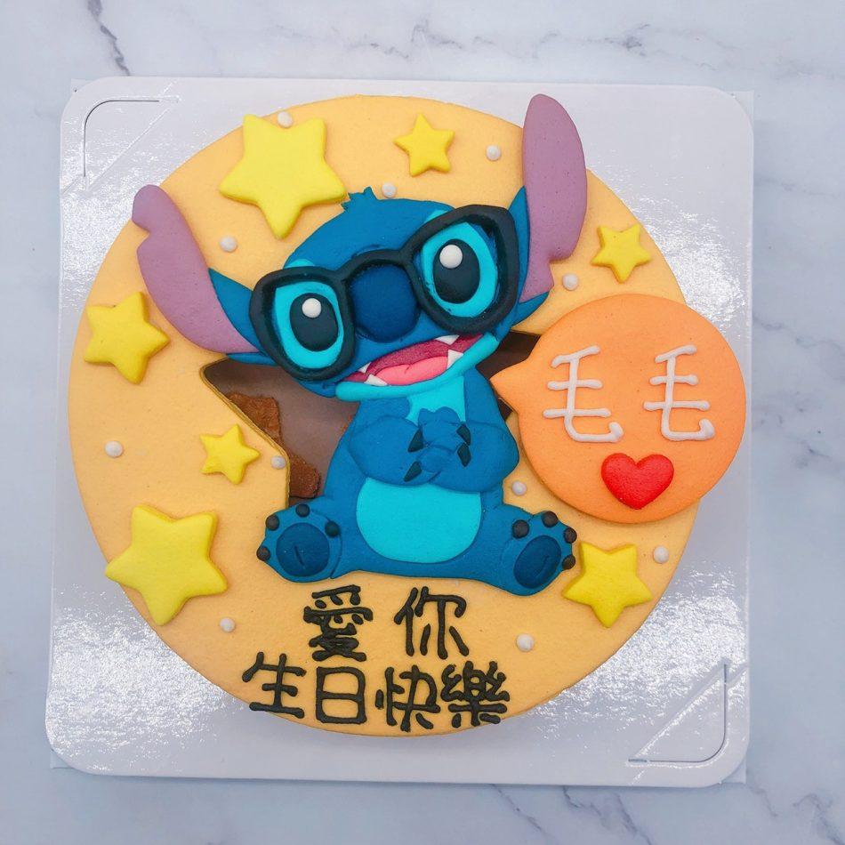 史迪奇造型蛋糕推薦,台北卡通生日蛋糕宅配