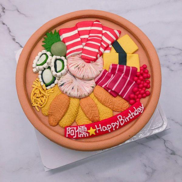 生魚片造型蛋糕推薦,食物造型生日蛋糕宅配