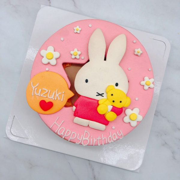 台北米飛兔生日蛋糕推薦,Miffy造型蛋糕作品分享