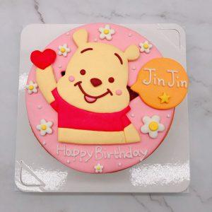 小熊維尼造型蛋糕推薦,卡通生日蛋糕宅配
