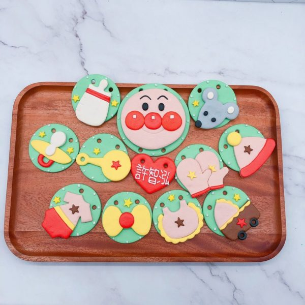 麵包超人收涎餅乾推薦,平價寶寶客製化收涎餅乾