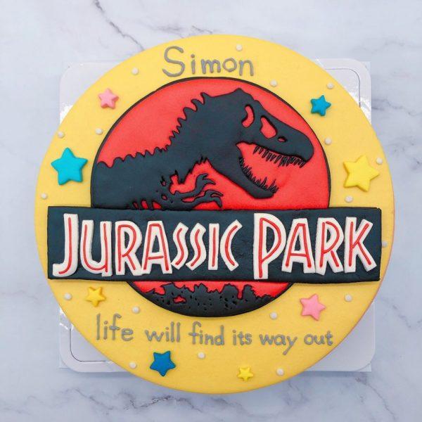 侏儸紀公園造型蛋糕推薦,恐龍生日蛋糕宅配