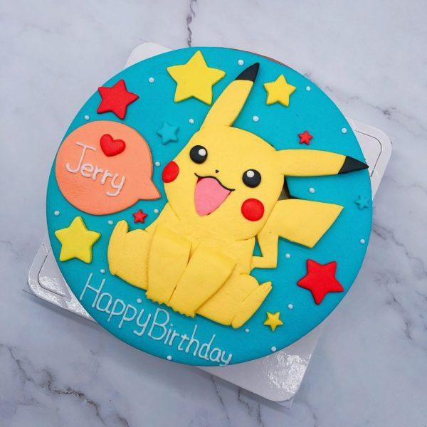 台北皮卡丘造型蛋糕,寶可夢卡通生日蛋糕推薦