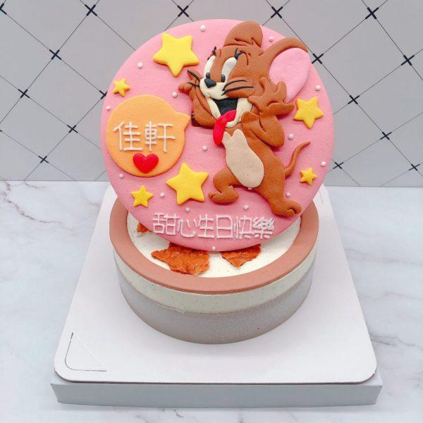 湯姆貓與傑利鼠造型蛋糕,傑利鼠生日蛋糕推薦
