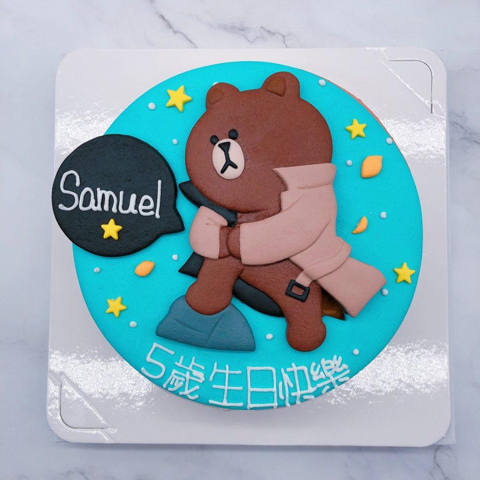 台北熊大手作造型蛋糕推薦,客製化生日蛋糕作品分享