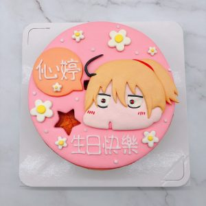 Q版人像生日蛋糕推薦分享,客製化造型蛋糕推薦