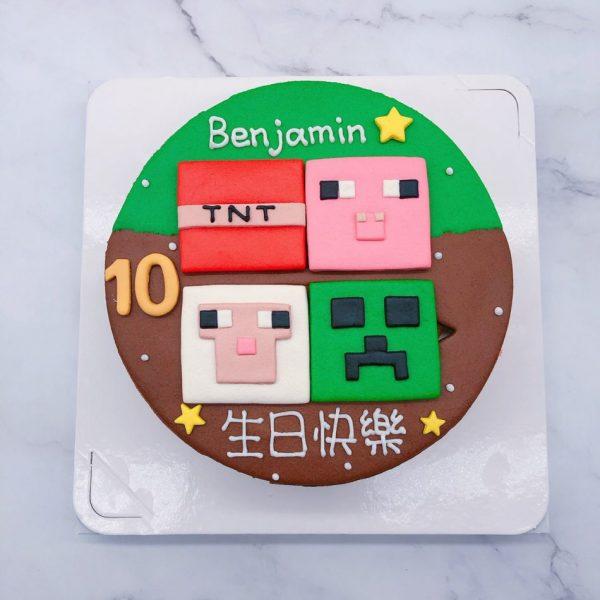Minecraft手作蛋糕作品分享,我的世界/麥塊造型蛋糕推薦