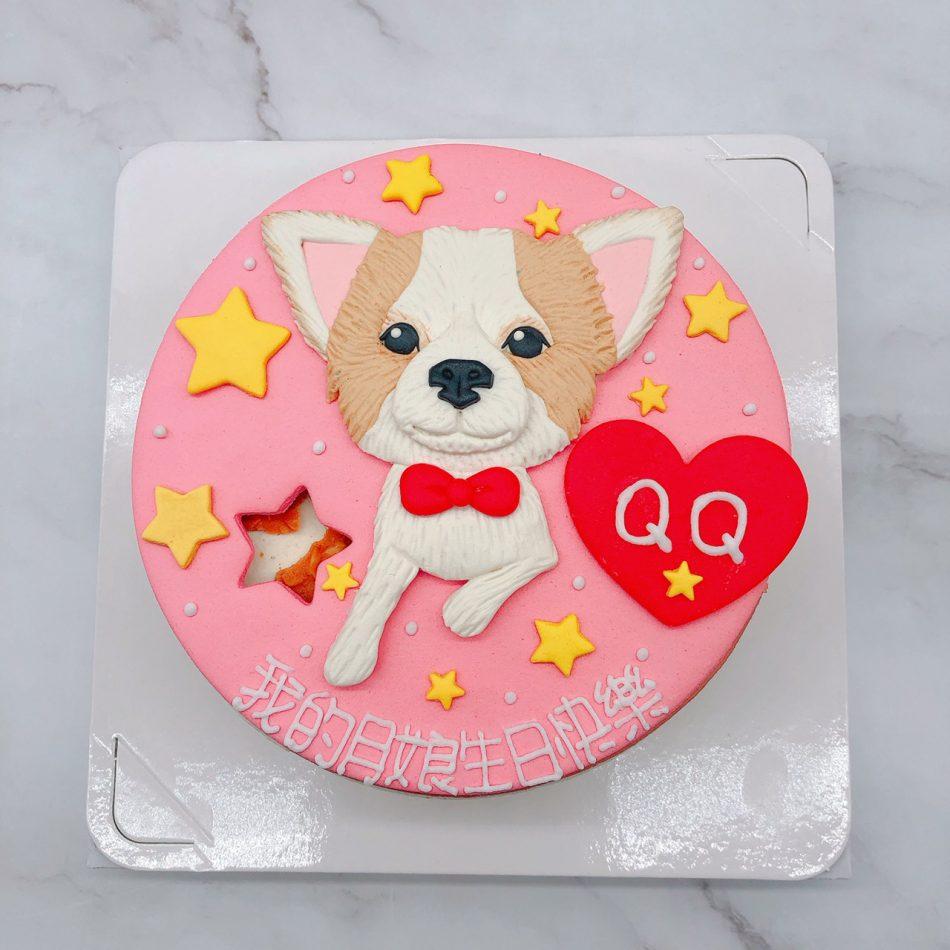 寵物狗造型蛋糕推薦,台北客製化生日蛋糕宅配