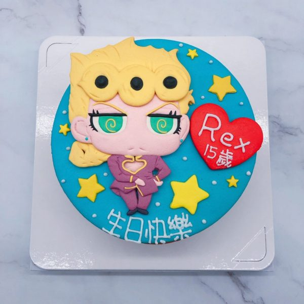 JoJo的奇妙冒險生日蛋糕推薦,台北客製化造型蛋糕宅配