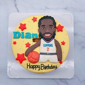 NBA籃球生日造型蛋糕,快艇隊造型蛋糕推薦