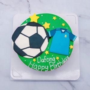 足球造型蛋糕推薦,足球衣生日蛋糕宅配