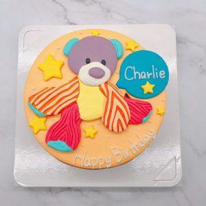 台北小熊造型蛋糕推薦,娃娃生日蛋糕宅配