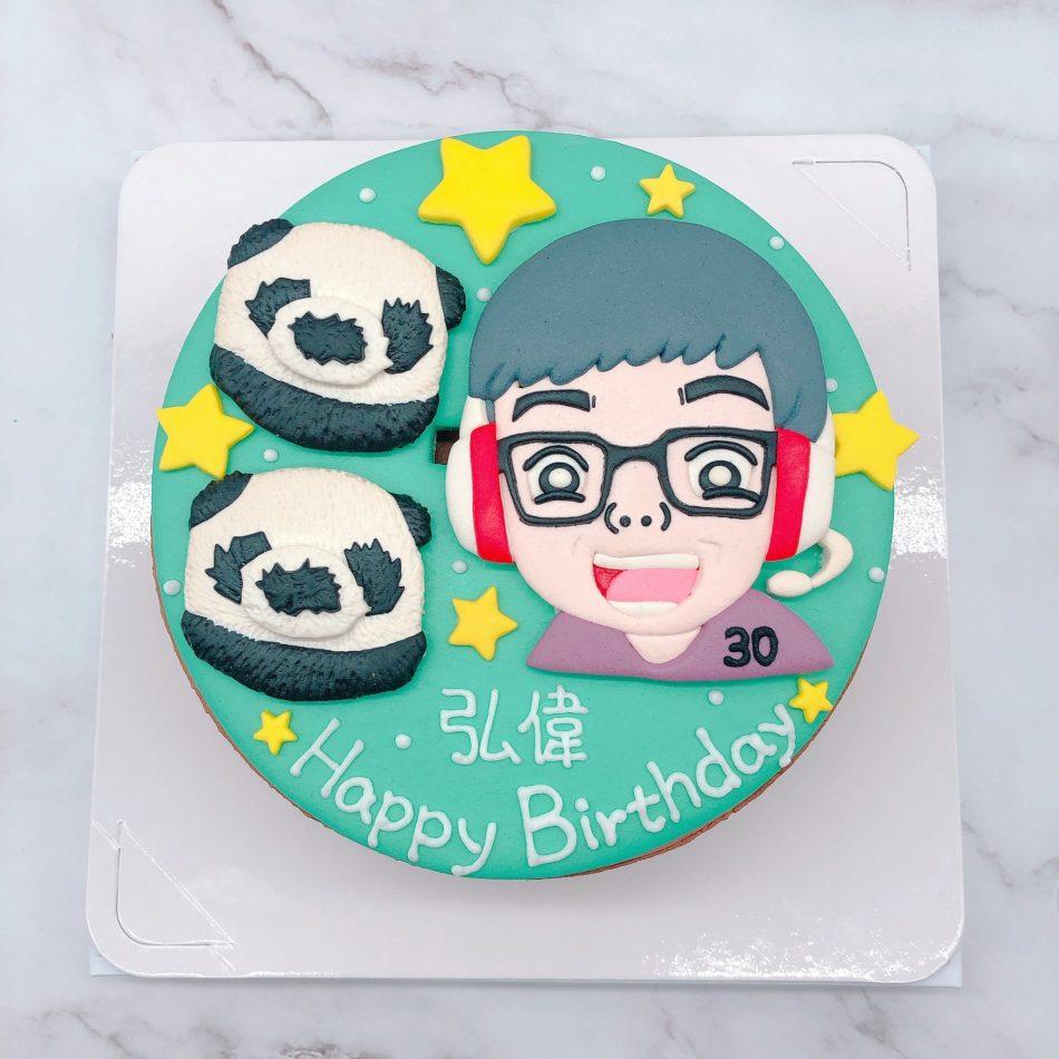 Q版丁特生日蛋糕推薦,台北客製化造型蛋糕推薦