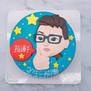 Q版人像生日蛋糕推薦,台北客製化造型蛋糕推薦